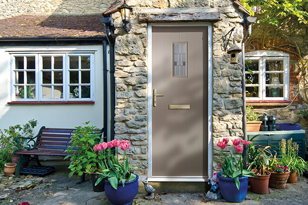 Grey Composite Doors Wiltshire - Castlegate Windows