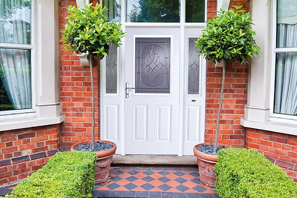 White Composite Doors Wiltshire - Castlegate Windows